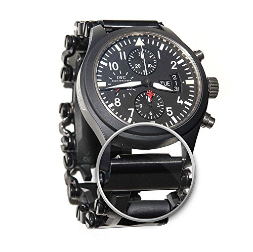 ChronoLinks Leatherman Tread Watch Adapter - Black DLC (22mm)