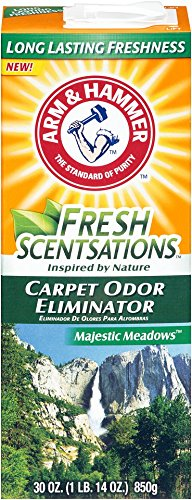 UPC 033200000020, Arm & Hammer Fresh Scentsations Carpet Odor Eliminator, Majestic Meadows, 30 Ounce