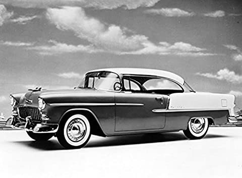 1955 Chevy Bel Air Promotional Promo Old Historical Photograph - Various Sizes Reprint - Pictures 1955 Chevy