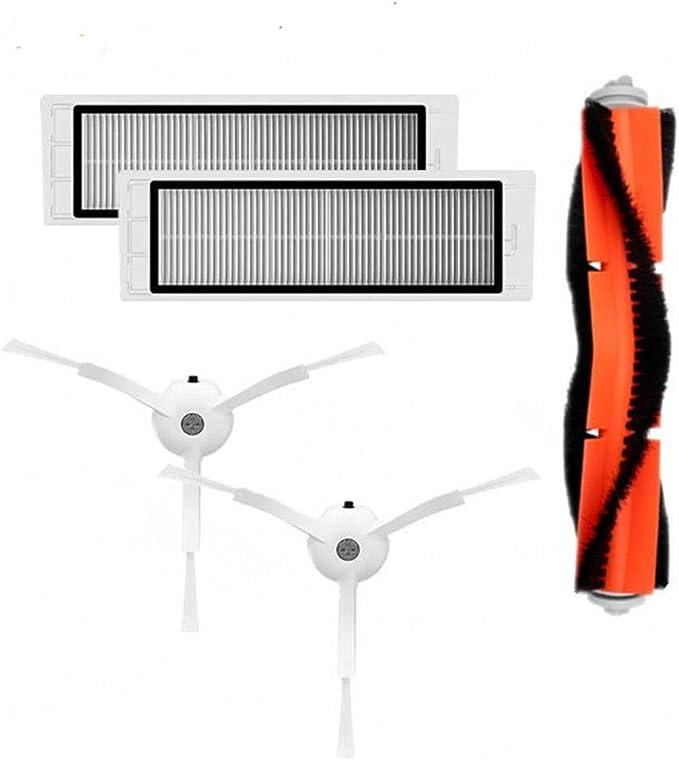 Spazzola a rullo per accessori per robot spazzole spazzola filtro filtro Haipa Parti di Ricambio per Xiaomi Aspirapolvere Menlang Accessori di Ricambi per Xiaomi Mi Robot Vacuum Cleaner