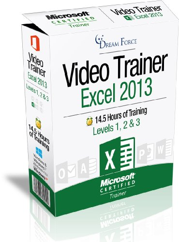 Excel 2013 Training Videos - 14.5 Hours of Excel 2013 training by Microsoft Office: Specialist, Expert and Master, and Microsoft Certified Trainer (MCT), Kirt Kershaw ()