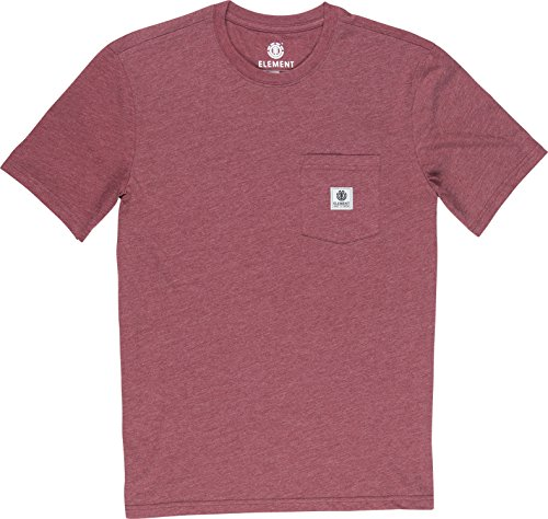 T Heather Oxblood L1ssa3 T Element Homme shirt Uxq17EEw