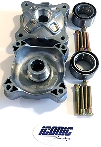 08-14 Polaris RZR 800 / S 800 BOTH Front Wheel Hub Service Kits Updated Version Left AND Right by Iconic Racing (Image #1)
