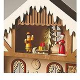 Lighted Santa's Workshop Advent Calendar - Wooden