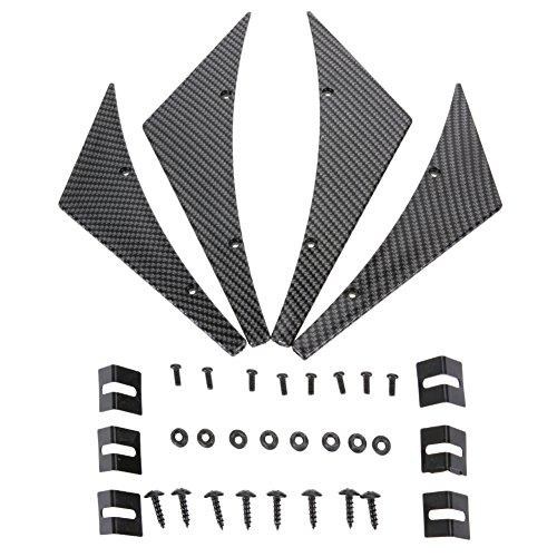 WinnerEco Anti Splitter Diffuser Bumper Canard Lip Tuning Body Kit / Front Deflector