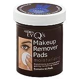 Andrea Eye Q's Eye Make-Up Remover Pads Moisturizing 65 Each (Pack of 4)