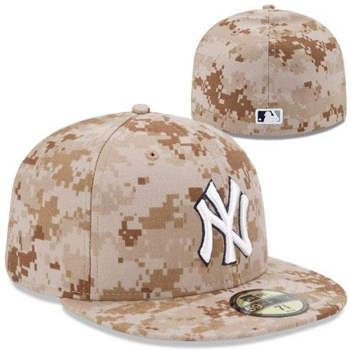 2013 Authentic Collection - New York Yankees 2013 Authentic Collection USMC 59FIFTY On-Field Game Cap