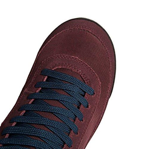 The North Face W Back-2-Berk Boot 2, Chaussures de Randonnée Basses Femme, Bleu Rouge (Barolo Red/Vintage White Vfz)