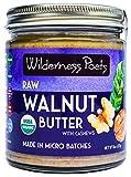 Wilderness Poets Walnut Butter with Cashews - Organic & Raw - 8 oz (227 g)