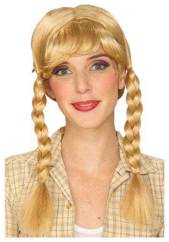 Cowgirl Wig Costume Accessory (Costumes With Pigtails)