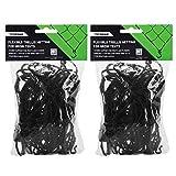 VIVOSUN 2 Pack Elastic Trellis Netting for Grow Tents of Any Dimensions 4'x4' 4'x2' 5'x5' 3x3'