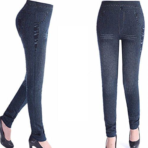 Pencil Dentelle Noire Print Plus Jeans Size Femmes 2018 Leggings Mode Denim Krastal Slim A67znPvz