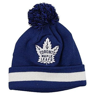 "Mitchell & Ness NHL ""Retro"" Ball Top Cuffed Knit Hat"