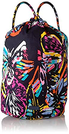Vera Bradley Iconic Ditty Bag, Signature Cotton, Butterfly Flutt