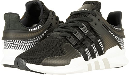 Adidas Originals Mens Eqt Support Adv  Black Black White 001  8 5 Medium Us
