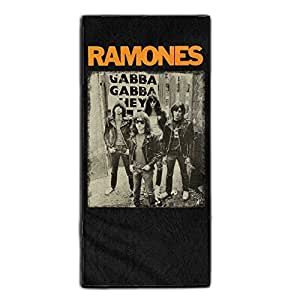 Ramones Cute Outdoor Hair Towel One Size