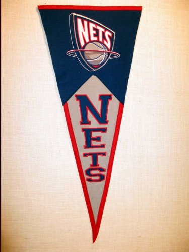 New Jersey Nets NBA 17x40'' Classic Wool Pennant