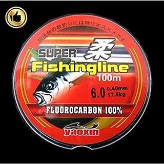 CUSHY 100 Metri Pesca Linea di Nylon per la Pesca da Pesca 0,8-6: 5.0