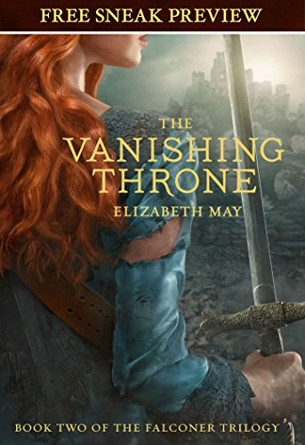 The Vanishing Throne: Book Two of the Falconer Trilogy by [May, Elizabeth]