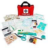 Best Aid Kits - First Aid Kit -309 Pieces- Reflective Bag Design Review