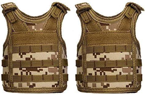 UpAuto Mini Beer Vest Military Bottle Beverage Cooler Holder for 12oz or 16oz Cool Bottle Decoration