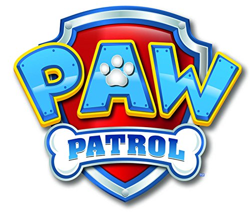 Paw Patrol Logo 1/4 Sheet Edible Photo Birthday Cake Topper