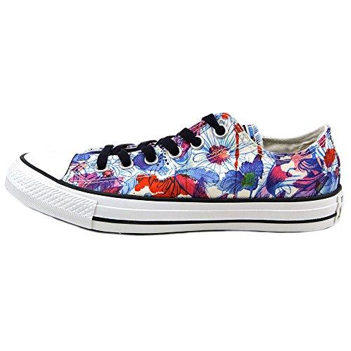 Converse Kvinners Chuck Taylor All Star Daisy Print Lav Top Sneaker Kvikk Maling Blu / Plast Rosa / Wht 551549f-spraymaling