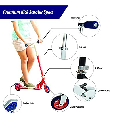 Walk-Onz Chicago Cubs MLB Folding Kick Scooter : Sports & Outdoors