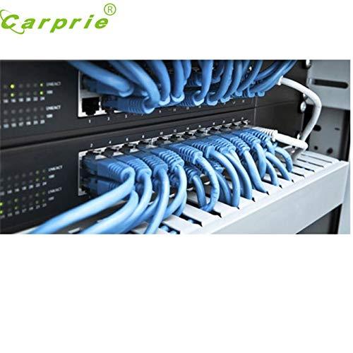 Computer Cables Yoton 2017 4M Blue Ethernet Internet LAN CAT5e Network Cable for Computer Modem Router Cat 5 Cable Sep 14 Cable Length B