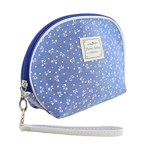 Women Dainty Travel Makeup Bag Pouch Cosmetic Purse Stationery Beauty Girl Case - M Kids And H Nyc