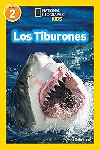 National Geographic Readers: Los Tiburones (Sharks) (Spanish Edition) by National Geographic Children's Books