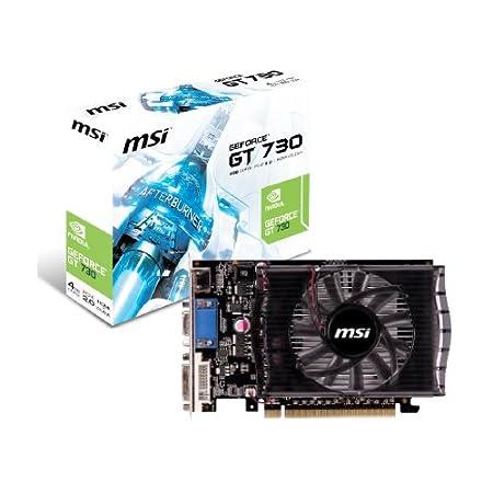 MSI GeForce GT 730 4 GB - Tarjeta gráfica GeForce GT 730 4 ...
