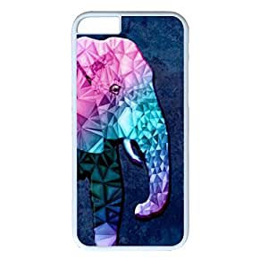 iPhone 6 Case, Cute Fancy Colorful Pattern Hard Back Case Cover Fit for iphone6 4.7Inch(Animal Elephent)