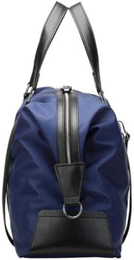 Kaiyitong Sports Bag Black Size: 43 16 28cm Mens and Womens Waterproof Short-Distance Travel Bag Color : Blue