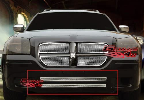 APS 304 Stainless Steel Billet Grille Combo Compatible with 02-05 Dodge Ram N19-C89976D