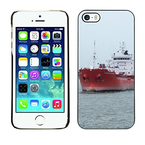Premio Sottile Slim Cassa Custodia Case Cover Shell // F00008489 bateau // Apple iPhone 5 5S 5G