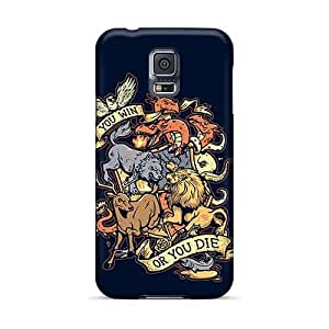 Samsung Galaxy S5 PbR19213juxC Unique Design Trendy Metallica Pattern Scratch Protection Cell-phone Hard Covers -KevinCormack