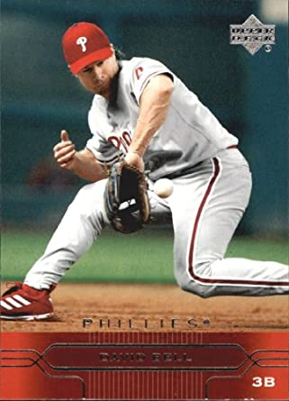 Amazoncom 2005 Upper Deck Baseball Card 150 David Bell
