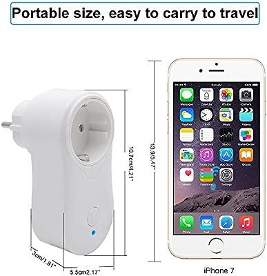 Enchufe Inteligente Wlan WiFi USB, mando a distancia temporizador ...