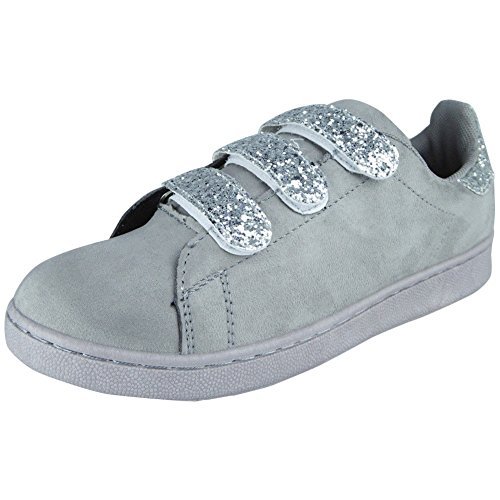 Womens Ankle Boots Ladies Cutout Gold Buckles Low Heel Flat Fashion Shoes Size 3-8 Grey PLm5OG