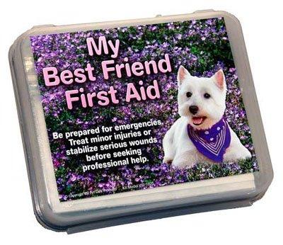 My Best Friend Small Dog First Aid Kit Hard Shell Travel Box
