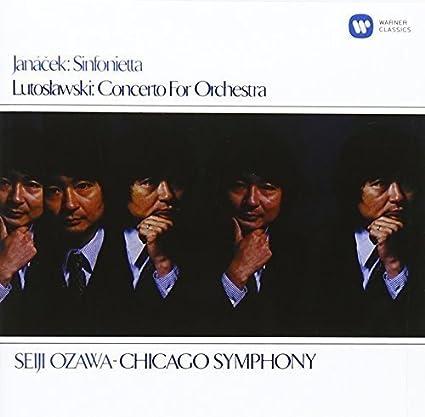 ヤナーチェク:シンフォニエッタ/ルトスワフスキ:管弦楽のための協奏曲