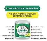 Recovita-Organic-Spirulina-Powder-Powerful-Natural-Vitamin-Cellular-Health-Supplement-for-Men-Women-225g-Jar-Non-GMO-and-Organic-Certified