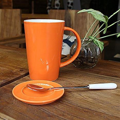 YX.LLA La Taza de café de cerámica Tazas dedicada microondas ...
