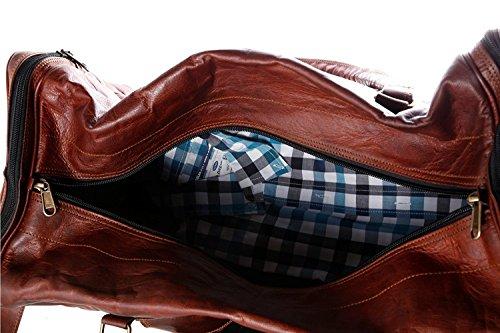 handolederco hnd luggage 24, Borsa a spalla uomo marrone brown