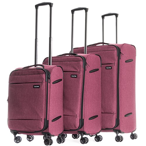 calpak-castlegate-lightweight-3-piece-luggage-set-red