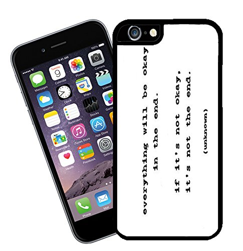 Quotes and Inspirational Words 001 - This cover will fit Apple model iPhone 7 (not 7 plus) - By Eclipse Gift Ideas