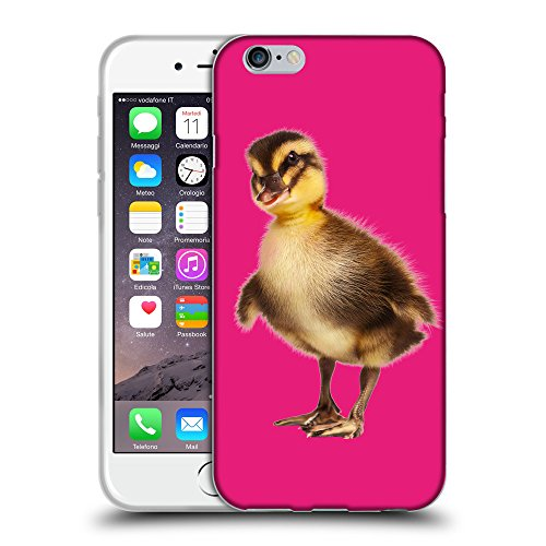 GoGoMobile Coque de Protection TPU Silicone Case pour // Q05770616 caneton Bright Pink // Apple iPhone 6 PLUS 5.5""