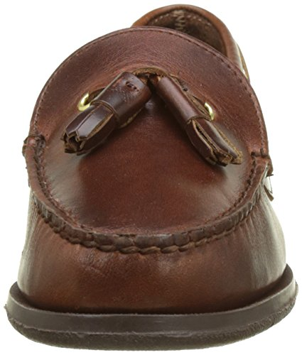 Marron Oiled Caspian Waxy Marron Mocassins Lea Femme Brown Sebago HaAz6qw