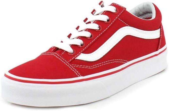 Vans Old Skool Sneakers Damen Herren Unisex Rot